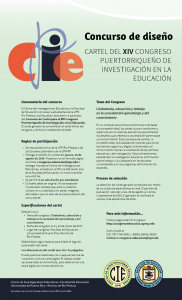 Información Concurso Cartel Congreso 2017